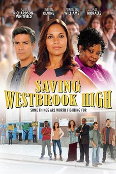 Saving Westbrook High - (Teachers ) Christian Movie/Film, UPTV / Manny Cortez is uprooting his family, wife Teresa and daughters Selana, 14 and Gabriella, 12 – so that they can go to Westbrook High where his beloved late father was the football coach. Great Films, Good Movies, Loretta Devine, Christian Films, 2015 Movies, Hallmark Movies, Dvd Blu Ray, Family Movies, Film Posters