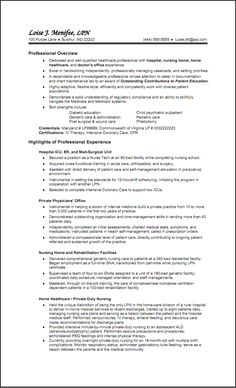 hospital nurse resume templates httpwwwresumecareerinfohospital - Nursing Resumes Templates