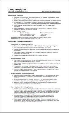 Hospital Nurse Resume Templates - http://www.resumecareer.info/hospital-nurse-resume-templates-4/