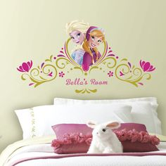 Room Mates Popular Characters Frozen Spring Time Custom Wall Decal & Reviews | Wayfair