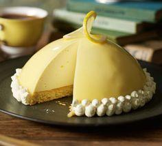 Mirror Glaze Mousse Cake