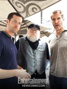 D.B. Weiss, George R.R. Martin, and David Benioff, Game of Thrones.