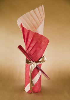 Sake Bottle Gift Wrapping Oct. 2011 by Shiho the Craft Guru, via Flickr