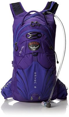 Osprey Womens Raven 6 Hydration Pack Iris Purple One Size >>> Read more  at the image link. This is an Amazon Affiliate links.