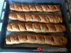 See what I'm cooking on Cookpad! Homemade Pastries, Savory Muffins, Puff Pastry Sheets, Yummy Food, Tasty, Greek Recipes, Main Meals, Tray Bakes, Yummy Cakes