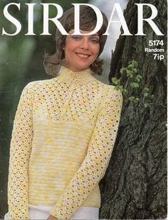 womens crochet sweater crochet pattern ladies crochet by Hobohooks