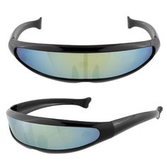 Hot Sale Futuristic X-men Sports Travel Unisex Sunglasses Eyewear Glasses Mirrored