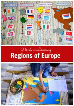 Study on the regions of Europe from The Pinay Homeschooler