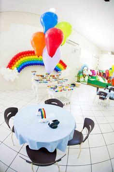 Tema arco iris Colorido