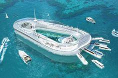 Самые необыкновенные подводные дома на нашей планете