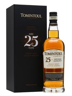 #New: Released yesterday, the new Tomintoul Single Malt Whisky 25 year old: