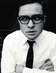 Glasses, Ed Westwick