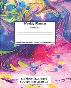 Amazon.com: Weekly Planner & Calendar: 5 Years Planner: January 2020-December-2024 (9781696569743): Ricky Lee: Books