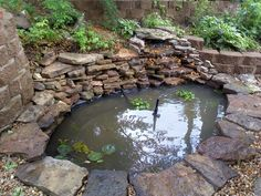 Water Garden Ponds and Waterfalls Water features add a peaceful sound to any garden