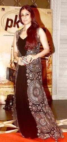 Tabu at 'pk' success bash. #Bollywood #Fashion #Style #Beauty