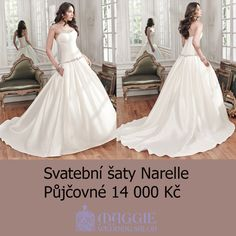 Svatební šaty Narelle, salon Maggie #svatebnisaty #svatba #svatby #svatebnisalon #svatebnistudio #saty #MaggieSottero #nevesta #satypronevestu