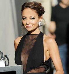 Nicole Richie arrives at the Jimmy Kimmel Show in Los Angeles, California on April 9, 2013.