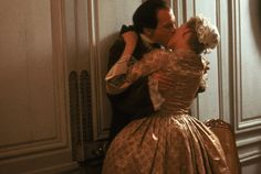 """Absolutely LOVE this movie.   John Malkovich and Michelle Pfeiffer share a moment in 1988's epic period piece, """"Dangerous Liaisons,"""" winner of three Oscars, including """"Best Screenplay (Adaptation).""""    Cruel Intentions is brilliant too!"""