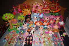 Gwen's Lalaloospy collection. #lalaloopsycollection