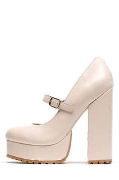 Jeffrey Campbell Shoes ADORLEE Shop All in Beige Box