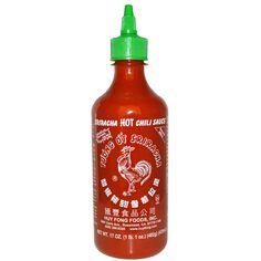 3,57 Huy Fong Foods Inc., Sriracha, salsa con chile picante, 17 oz (482 g)
