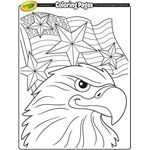 coloring pages crayolacom independence day or patriots day