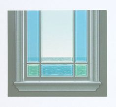 Style : I've been a big fan of Christopher Pratt for nearly a decade. He not only is a wonderful and moving artist, he's a great husband. Christopher Pratt, Mary Pratt, Alex Colville, Magic Realism, Open Window, Canadian Artists, Newfoundland, Great Artists, Illustrators