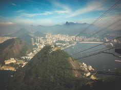 Sugarloaf Mountain. Rio de Janeiro, Brasil.
