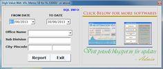 SB High value withdrawal verification Tool | POTOOLS