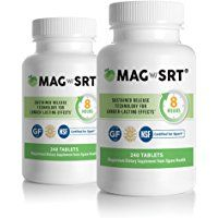 Jigsaw Health - Magnesium w/SRT 240 Tabs - x 2 Bottle Value Pack