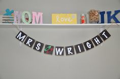 Teacher Banner  Name  Choose your colors by JKreations2013 on Etsy, $18.50