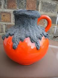 Volcanic Fat Lava red jug by Roth Pottery Bowls, Ceramic Pottery, Ceramic Art, Lava, Glaze Paint, Pottery Techniques, Pottery Designs, Modern Ceramics, Pottery Studio