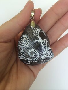 A personal favorite from my Etsy shop https://www.etsy.com/listing/229740333/hand-painted-sea-shell-pendant