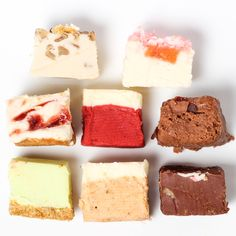 Fudge Sampler 8 Pack featured on Fab. Oh Fudge, Christmas Food Gifts, Sorbets, Cupcakes, Homemade Candies, Dessert Recipes, Desserts, Something Sweet, Different Recipes