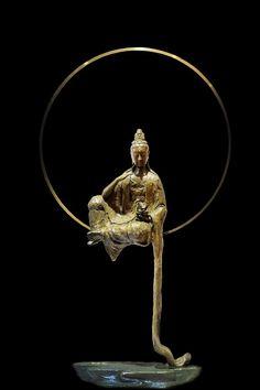 Asian Sculptures, Little Buddha, Buddha Art, Thai Art, Art Sculpture, Guanyin, Sacred Art, Religious Art, Tibet