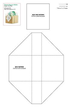 box and envelope templates by Sabrina Beaurain Tavares Paper Toy, Diy Paper, Paper Box Template, Envelope Templates, Box Templates, Origami, Stampin Up Karten, Box Patterns, Party In A Box