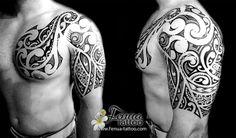 Best Sleeve Tattoos, New Tattoos, Tribal Tattoos, Cool Tattoos, Tatoos, Tatau Tattoo, Marquesan Tattoos, Tattoo Art, Scale Tattoo