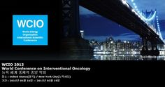 WCIO 2013 World Conference on Interventional Oncology 뉴욕 세계 중재적 종양 학회