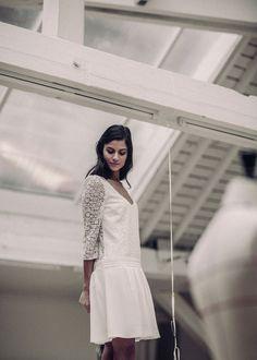 Robe de mariée Nerval Laure de Sagazan http://www.vogue.fr/mariage/adresses/diaporama/les-robes-de-marie-spcial-mariage-civil-de-laure-de-sagazan-2016/25723#robe-de-marie-nerval-laure-de-sagazan
