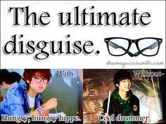 Kekekeke....kdrama disguise Minhyuk version!!! Heartstings <3
