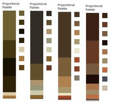 Classic Winter/The Queen Colours extracted from paintings by Velazquez