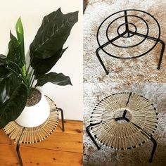 20 of the coolest Kmart hacks EVER! - Kmart hacks for the home - Creative ideas - 20 of the coolest Kmart hacks EVER! Boho style pot plant stand using Kmart stand and jute string. Diy Home Crafts, Diy Home Decor, Diy Decorations For Home, Decor Ideas, Kmart Home, Kmart Decor, Deco Nature, Diy Plant Stand, Indoor Plant Stands