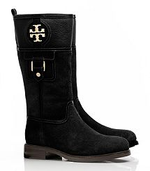 Fall must-have! Alaina Mid Calf Boot by Tory Burch