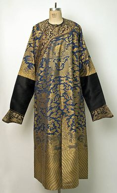 Court Robe    Date:      late 19th century  Culture:      Chinese  Medium:      silk  Dimensions:      Length at CB: 55 1/2 in. (141 cm)  Credit Line:      Gift of Estate of Mrs. Thomas Lamont, 1953  Accession Number:      C.I.53.22.2    This artwork is not on display