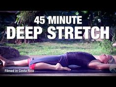 Yin Yoga for a Deep Stretch - 45 min Full Class for Flexibility - YouTube