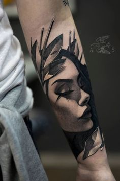 16 Troubling Ladies By Alex Sorsa @proulxjustice #yourstory #bodyart #tattoo