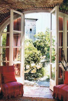 Italian villa and gardens