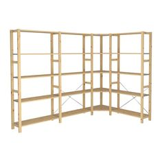 Cellier on pinterest ikea solid pine and storage systems - Plateau bois massif ikea ...