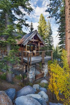 The Rustic Luxury Houses Are Stone and Wood Perfection (30 Photos) So you have always wanted to build a rustic dream home, perhaps out in the wilderness somewhere, or you just want a simple home to complement your sim...