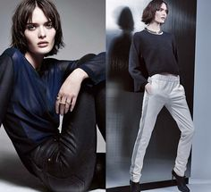 J Brand 2013 Fall Ad Campaign: Designer Denim Jeans Fashion: Season Collections, Runways, Lookbooks and Linesheets